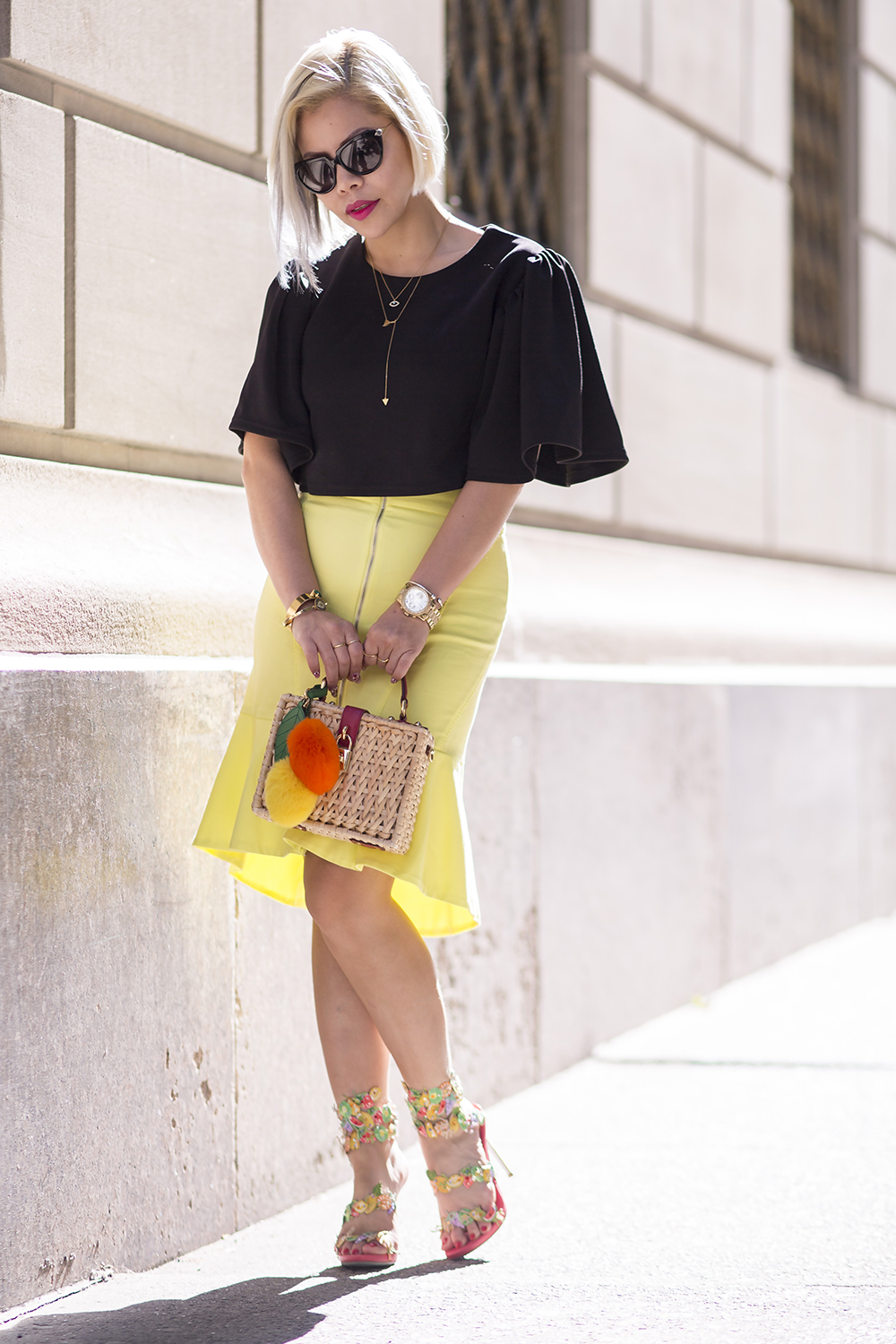 New York Fashion Week- Crystal Phuong streetstyle