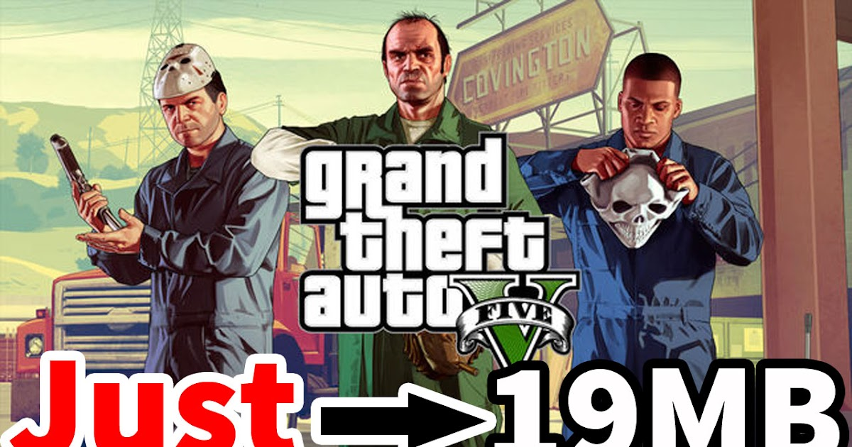 gta 5 pc game highly compressed