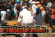 Tim SAR Gabungan Berhasil Menemukan Korban Tenggelam di Sungai Mapilli di temukan