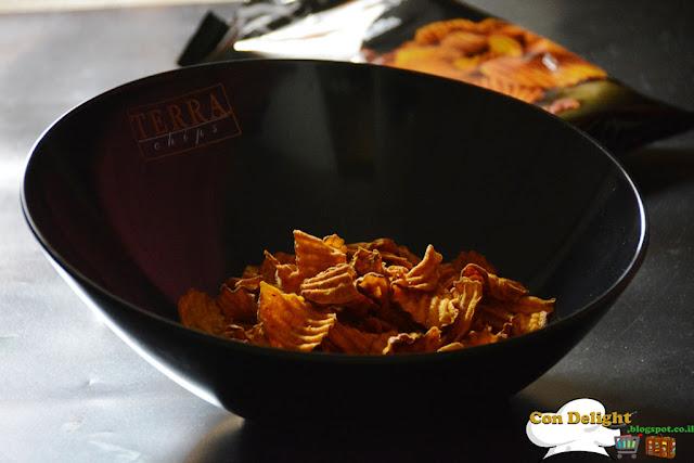צ'יפס בטטה טרה צ'יפס Terra chips
