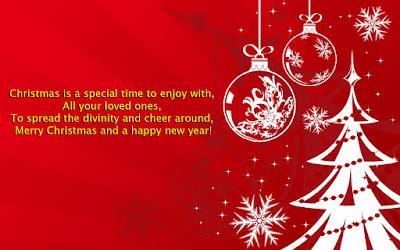 Christmas Card Message