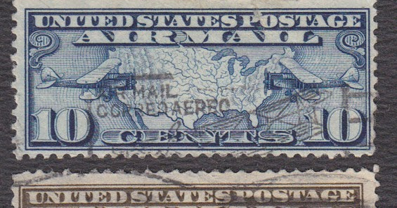 Blogart United States The 1926 Airmail Postage Stamp Set Illustrated