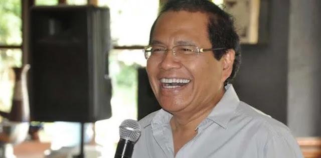 Pesan Menohok RR untuk Denny JA: Lebih Baik Umumkan Jokowi Unggul 99,9 Persen