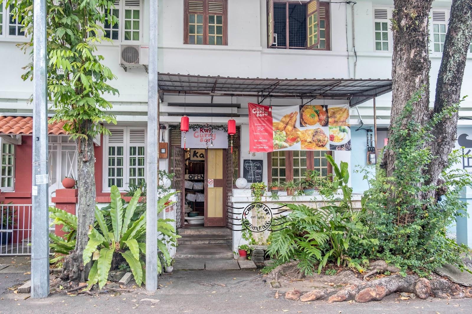 Kai Curry Bar at Jalan Phuah Hin Leong, Penang