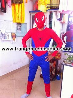 bán trang phục spiderman