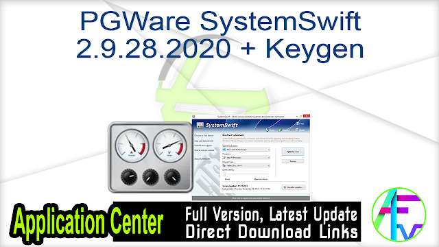 PGWare SystemSwift 2.9.28.2020 + Keygen