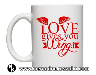 kubek Love gives you wings
