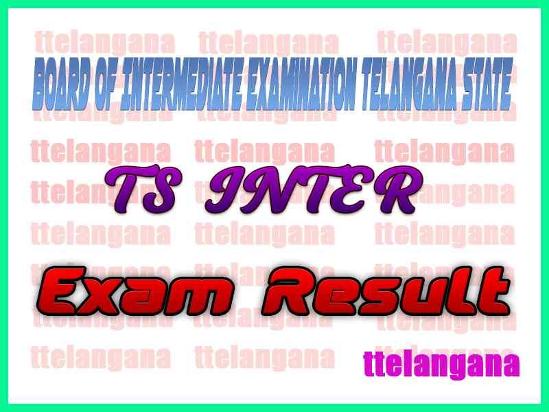 Telangana Intermediate 1st 2nd Year Exam  Results
