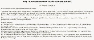 """מדוע סמים פסיכיאטריים תמיד רעים - ד""""ר דאגלס ג. סמית"""