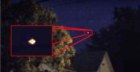 OVNI aparece 2 vezes sobre a mesma casa