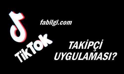 TikTok Tikfree Apk Takipçi Hile Uygulaması Ağustos 2020 Yeni