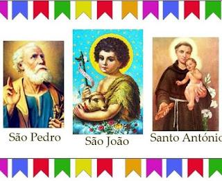 Saiba mais sobre São João, Santo Antônio e São Pedro