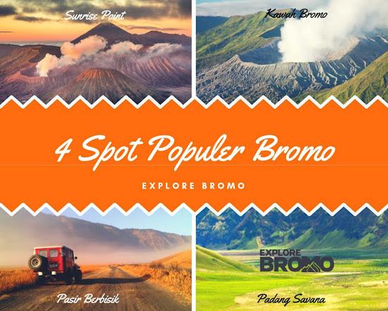spot wisata gunung bromo dan madakaripura