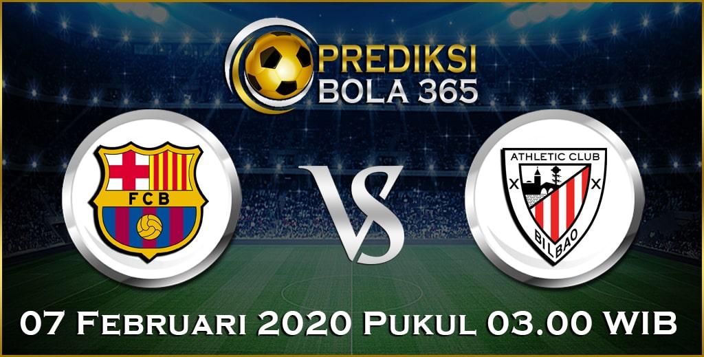 Prediksi Skor Bola Ath.Bilbao vs Barcelona 07 February 2020