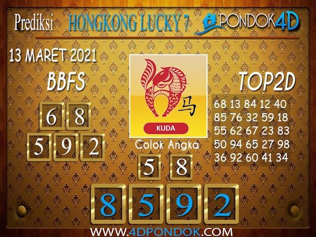 Prediksi Togel HONGKONG LUCKY7 PONDOK4D 13 APRIL 2021