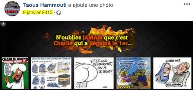 Taous Hammouti fait l'apologie du terrorisme