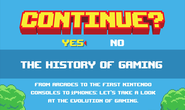 The History of Gaming: A Look At How Things Have Changed