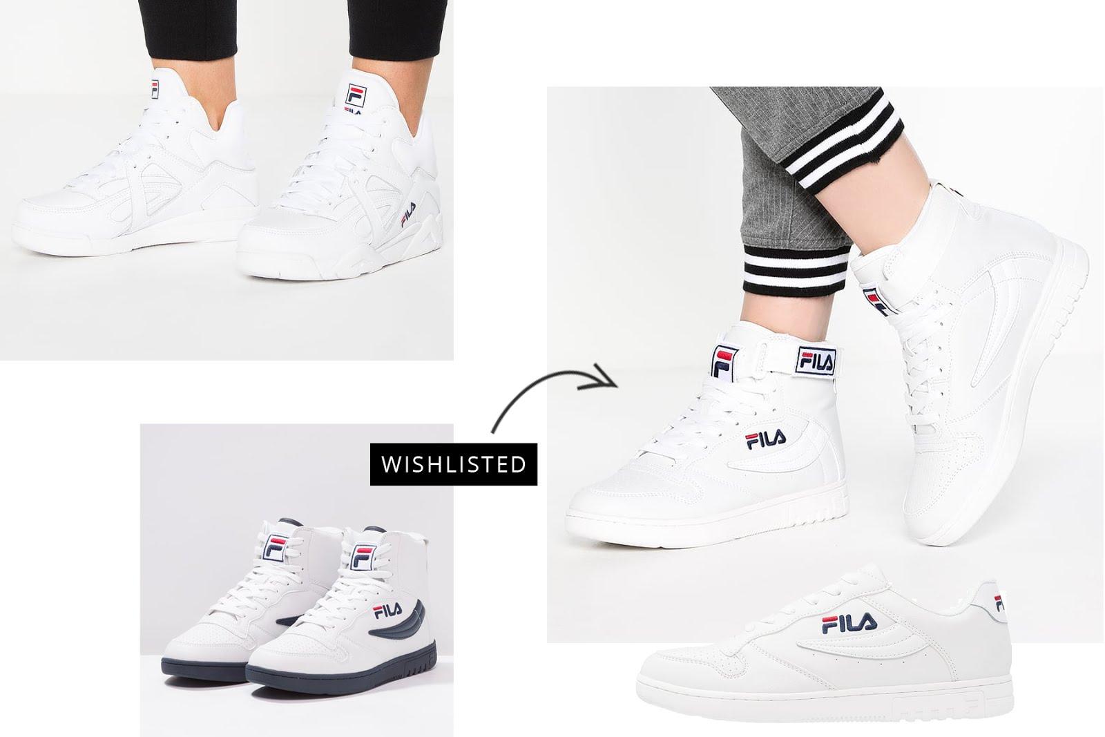 Fila, sneakers, FX 100, CAGE L MID, white, hi tops, 90's, comeback, ss17