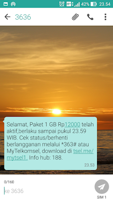 Paket Internet Murah Telkomsel 1GB 10 RB Promo Akhir Tahun