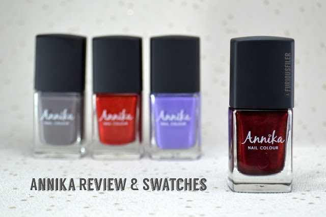 The Edge Nails annika review swatch furious filer