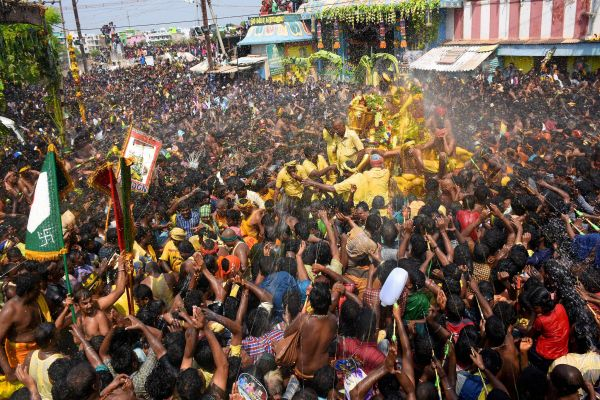 Chithirai Festival Images