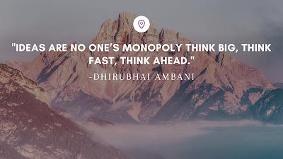 Best Inspirational Quotes by Indian Businessmen - Dhirubhai Ambani