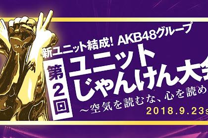 AKB48 Group Unit Janken Tournament 2018 (NicoNico)