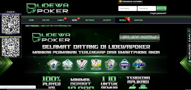 Situs poker online paling dicari