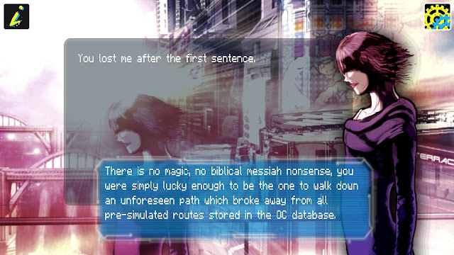 Screenshot from game Sinless