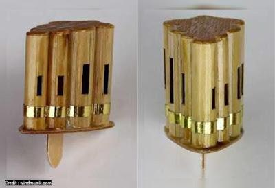 sawangan merpati dari bambu