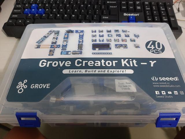 Reference - 01 - MicroPython trên ESP8266 xử lý module sensor Grove : Green LED, Rotary Angle Sensor, Button
