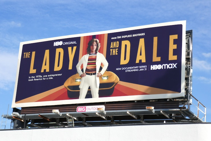 Lady and the Dale series launch billboard