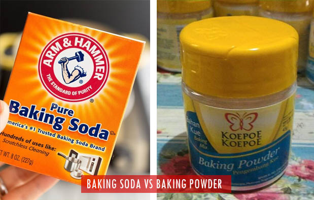 Perbedaan Baking Soda dengan Baking Powder