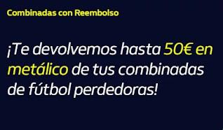 william hill Reembolso de hasta 50€ en metálico hasta 1-11-2020