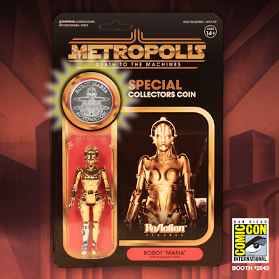 San Diego Comic-Con 2019 Exclusive ReAction Retro Action Figures by Super7