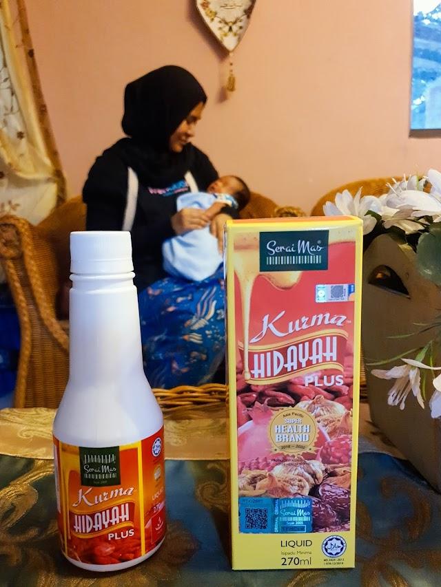SeraiMas Kurma Hidayah to Regain Energy After Birth.