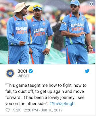 2011 World Cup hero Yuvraj Singh retires from international cricket