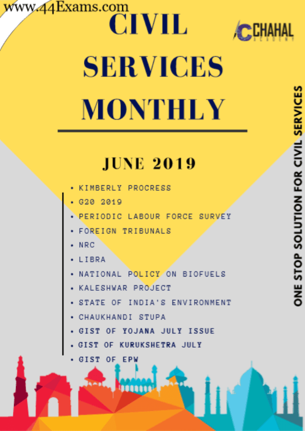 Civil-Services-Monthly-June-2019-For-UPSC-Exam-PDF-Book