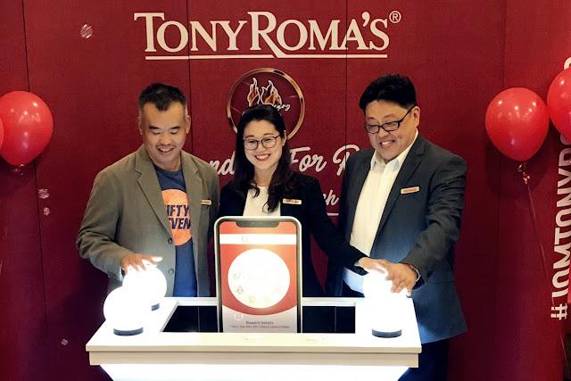 Sambutan Ulang Tahun Tony Roma's Ke-13 Dan Pelancaran Aplikasi Bite & Bites