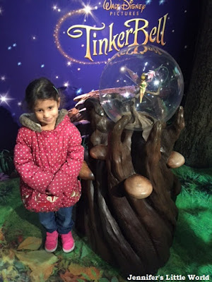 Tinkerbell at Madame Tussauds