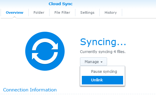 DiscoverThat: Synology Cloud Sync Issues