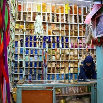 Tienda de hilo en Tetuán