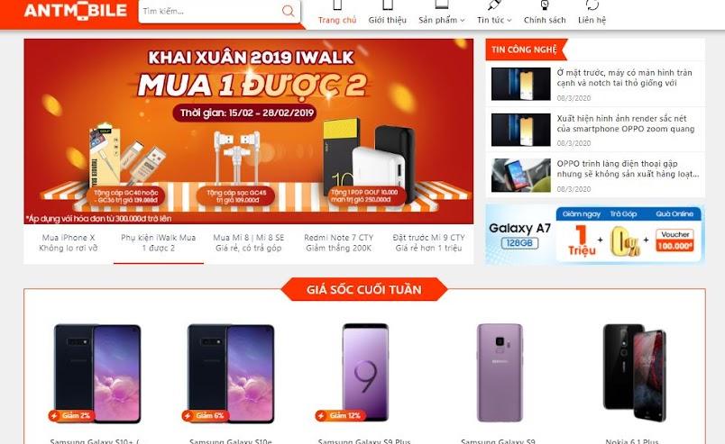 Chia sẻ Template blogspot bán điện thoại