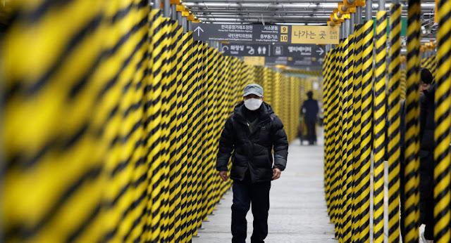 كوريا الجنوبية تعلن عن أول حالة وفاة جراء فيروس كورونا المستجد