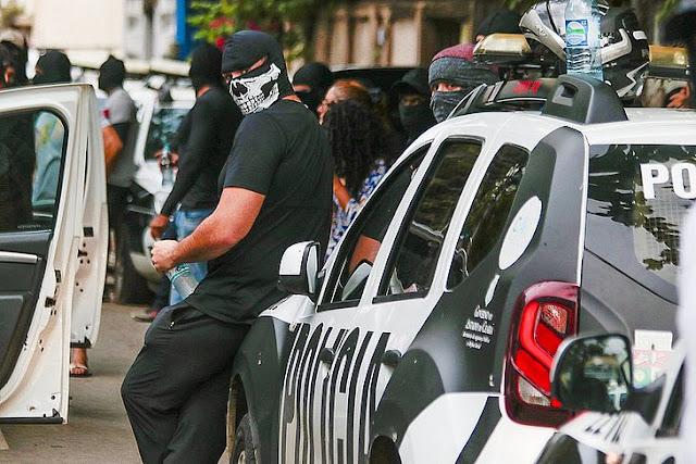 Policiais no Ceará