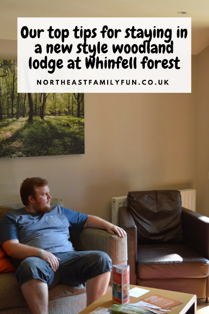 Our top tips for staying in a new style woodland lodge at Whinfell forest #WhinfellForest #CenterParcs #LogCabin #Cumbria