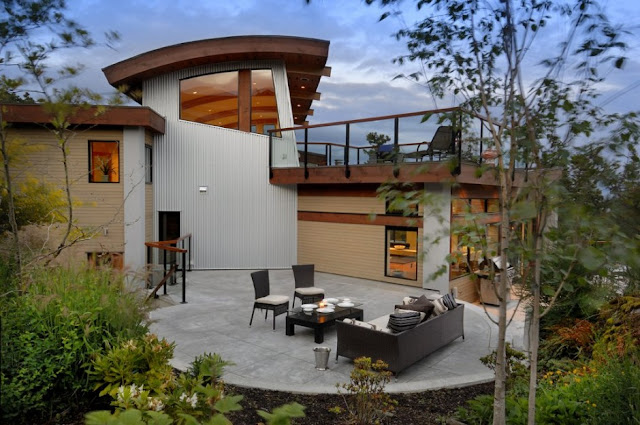 Уютный дом в Канаде