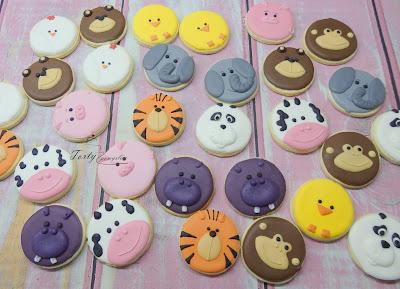 ciasteczka zwierzątka