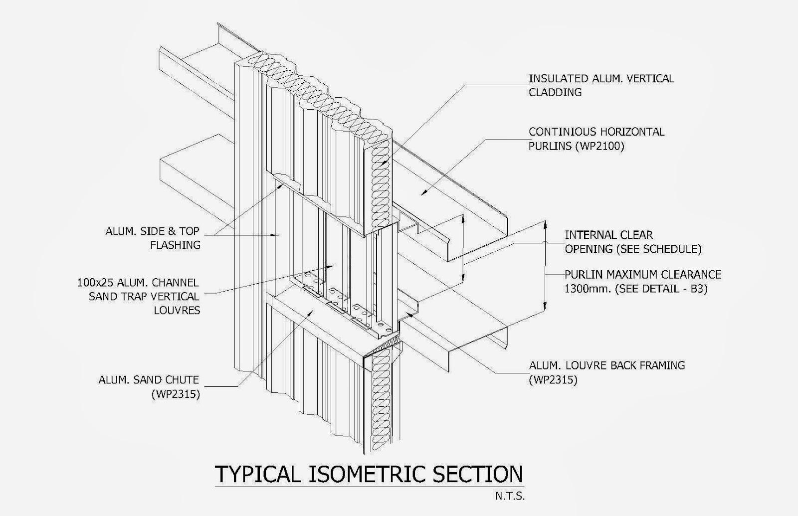 Sand Trap Louvers Facade Detail Amp Design