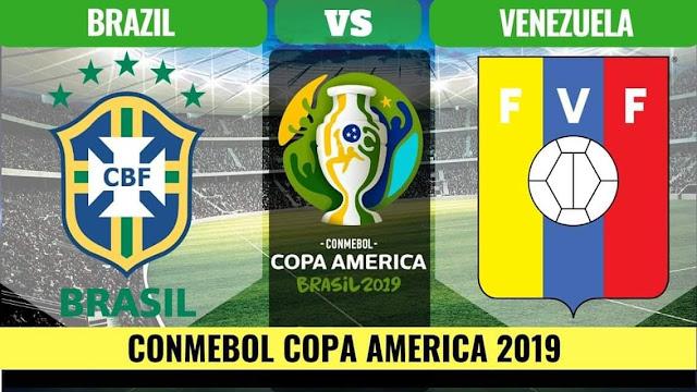 Brazil vs Venezuela Live Copa America 19.6.2019